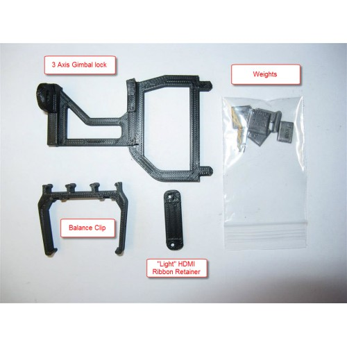Solo Balancing Kit & 3 Axis Gimbal Lock Combo for the 3DR