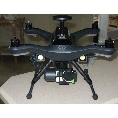 3DR Solo Stealth Retracts Accessory Bay Adapter, Cross Brace