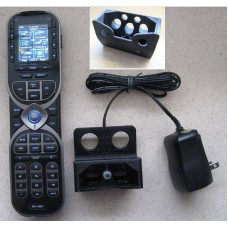 URC MX-880 Universal Remote with Custom Charging Stand (Wall or Desk Top) & CCP Complete Control Program Setup Software
